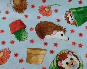 Who let the dogs out cotton fabric by Quilting treasures