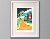 Blackheath - A3 Screen print - Limited Edition - (UN)FRAMED