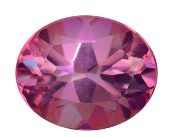 Mystic Charisma Pink Topaz Oval Cut Loose Gemstone 1A Quality 11x9mm TGW 3.75 cts.