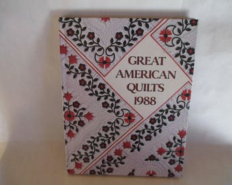 """Quilting Book - Quilts, Quilting, """"Great American Quilts"""" with patterns,  Quilt Making, Quilts, Lots of ideas with instructions."""