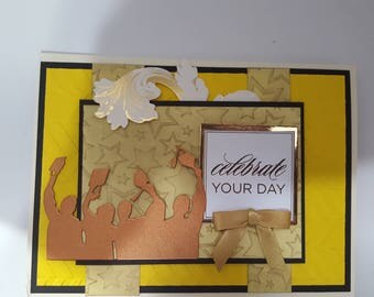 Graduation pop up greeting Card