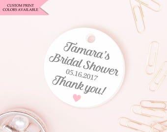 Nail polish tags (30) - Bridal shower nail polish tags - Nail polish favor tags - Mini tags - Bridal shower tags
