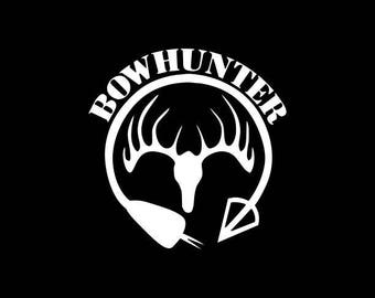 bowhunter Decal,Hunter Decal,Hunting Decals,Hunter Vinyl Decal,Love to Hunt,Love Hunting Decal,Bowhunting Car Decal,Bowhunting Truck decal