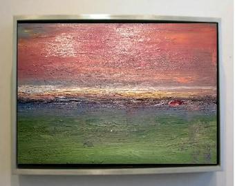 Abstract Landscape 10 Original Oil Painting (50cm x 40cm)