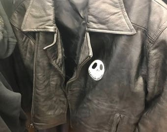 Vintage 90's nightmare before Christmas leather jacket
