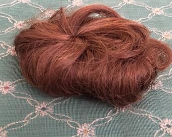 Vintage red bob doll wig