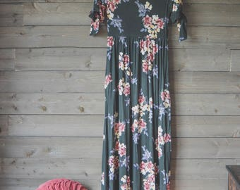 Chesterfield Maxi Dress