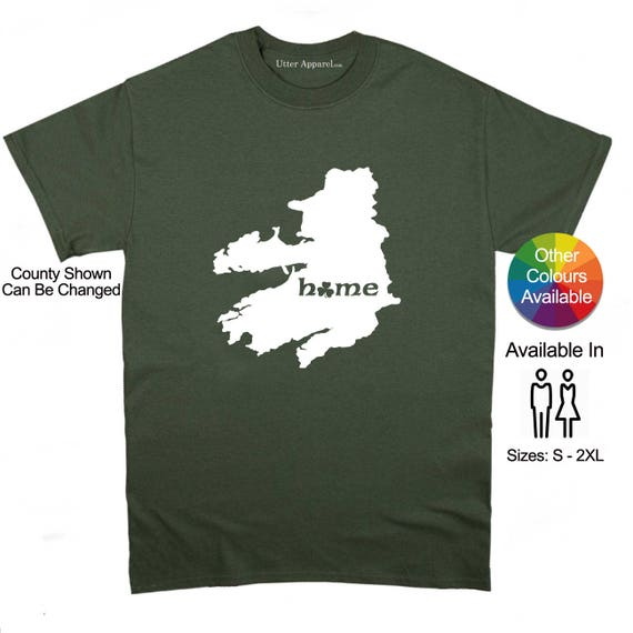 County Kerry Irish homeland t shirt, Ireland Counties, funny Irish t shirt Christmas birthday gift  Ireland Sizes S-2XL More colors.