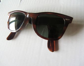 Wayfarer I vintage sunglasses tortoise shell original Bausch & Lomb