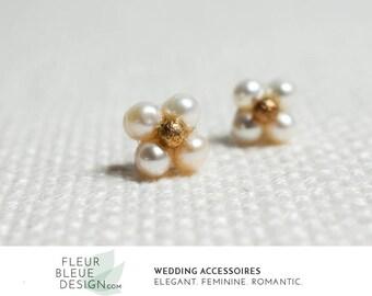wedding earrings | pearl earrings | bridal earrings | minimal earrings | studs for wedding | gold earrings | gold stud earrings | gold studs