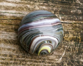 Vintage Art Glass Paperweight