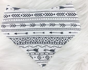 Tribal Stripe Bib