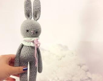 Crochet doll amigurumi Rabbit