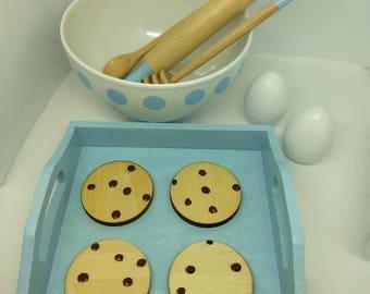 Cookie Baking Set - Wooden Play Food