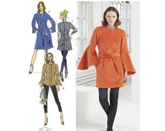 Simplicity Pattern 8469 Misses' Coat and Vest with Length Variations