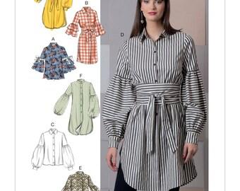 Vogue Pattern V9299 Misses' Top and Belt