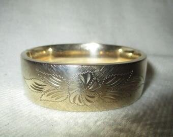 Kestenmade 1/20 12K GF hinged bangle bracelet