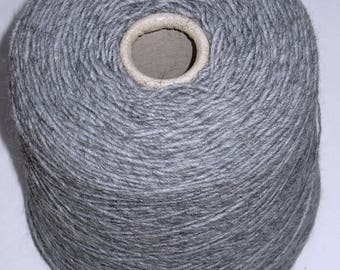 1 cone 410 g grey Alpaca Merino Wool