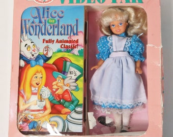Little Princess Collection Video Pak -Alice In Wonderland Doll and Video Set