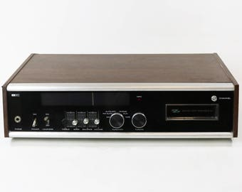 Vtg Lear Jet 8-Track AM FM Stereo, Model H-430 - Works