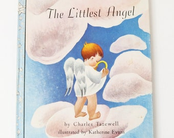 The Littlest Angel by Charles Tazewell 1946 1st Edtion, Illus by Katherine Evans