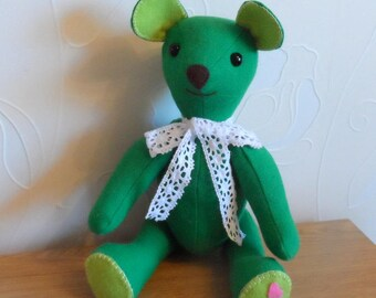 Welsh Tweed Teddy Bear