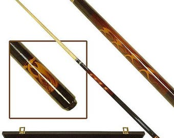 Personalized Pool Billiards Stick - Custom engraved Cues