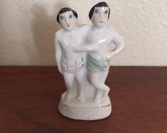Porcelain Men Figurine