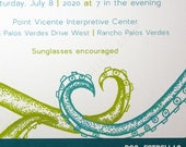 2 of Hearts / Octopus Tentacle Heart Wedding / Anniversary / Save The Date / Engagement / Party Invitations / Announcements
