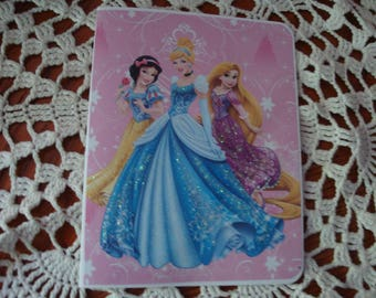 Disney Princesses, Children's birthday card, Cinderella,Girls, Snow White, and Rapunzel, Happy Birthday, greeting card, handmade