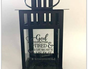 Sympathy Gift, God Saw You Getting Tired, Memory Candle, Sympathy Candle, Remembrance, Keepsake, Bereavement Gift,