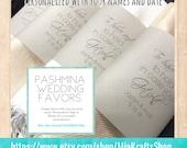 50 Pashminas Handmade - bridal shawl - pashmina - pashminas - pashmina shawls - wedding shawl - personalized bridesmaid gift - bridal shrug