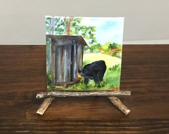 Bear. Outhouse,Smoky Mountains , Appalachian Mountains , Blue Ridge Mountains , Black  ear, Mountains