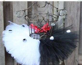 Semi-Annual SALE Cruella DeVille Inspired Tutu Costume - JT15145
