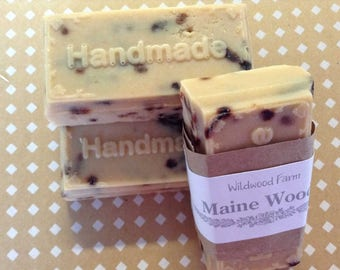 Maine Forest Goats Milk Handmade Soap - 2 Bars