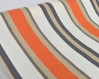 "Exterior fabric 100% Dralon ""Tango Orange"" sold in multiples of 10cm by 160cm"