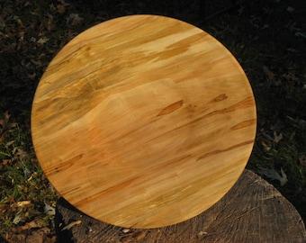 Platter in Ambrosia Maple