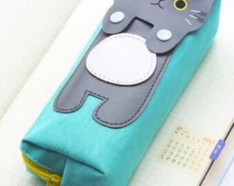 Cute Kawaii Cat Pencil Case