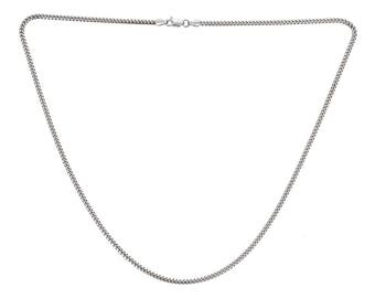 Sterling Silver .925 Miami Cuban Chain 4 mm - Multiple sizes