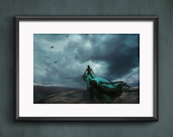 Fine Art Photography Fantasy Dreamscape Water and Wind Color