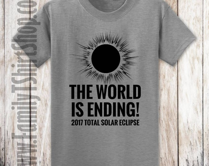 2017 Total Solar Eclipse The World Is Ending