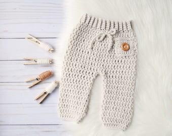 Newborn Pants, Crochet Newborn Pants, Knit Newborn Pants, Baby Pants, Newborn Pants, Crochet Pant, Crochet Baby Pants, New Baby Outfit