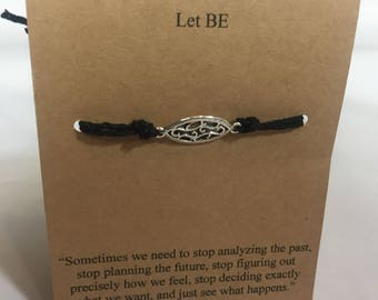 Let Be Wish Bracelet