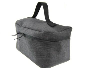 Vanity / toiletry bag Anthracite