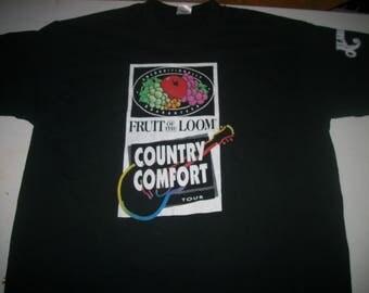 ALABAMA-FOTL promotional shirt 1990's Country Comfort tour