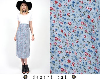 vintage 90s dress vintage 1990s floral boho dress vintage 90s grunge dress