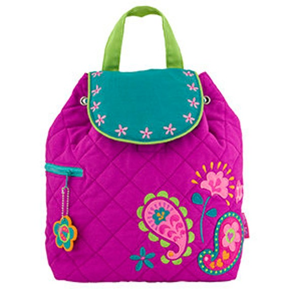 Stephen Joseph Quilted Paisley Backpack