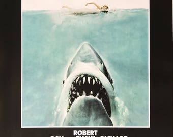 Jaws Movie Poster 24 x 36