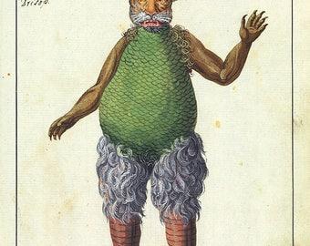 Occult Art:Beelzebub (Compendium Rarissimum) c. 1775. Fine Art Print/Poster. (004765)