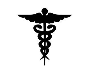 Medical Symbol Decal - Medical Symbol Decal - Medical Symbol Sticker  Window Decal  Car Decal - Laptop Decal - Window Sticker - Custom Decal